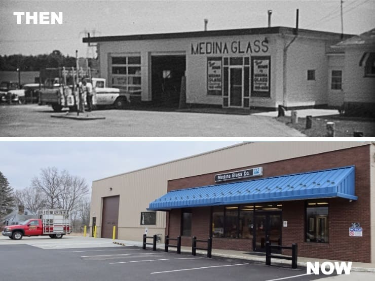 162540830cb0 As Medina Glass Company grew and prospered, it soon became apparent that  larger quarters were needed so in 1982 Medina Glass moved to a newly built  facility ...